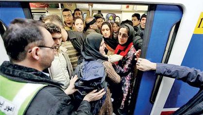 وداع با فاصلهگذاری اجتماعی در مترو؟