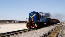 ورود بیش از دو هزار واگن حامل کالاهای تجاری به افغانستان طی ۱۰ روز