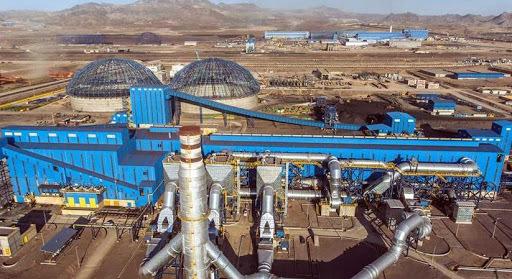 ثبت بالاترین رکورد تولید گندله و حمل ریلی در فولاد سنگان
