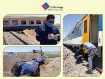 آماده باش بیمه ملت برای پرداخت خسارت حادثه قطار همدان- مشهد