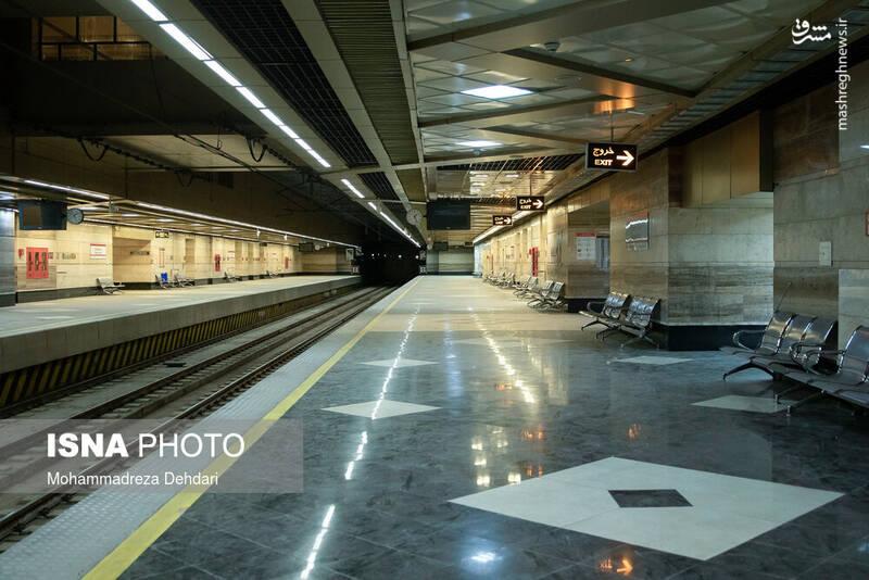 ادامه تعطیلی مترو شیراز در پی شیوع کرونا