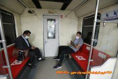 کنترل روزانه کولر تمامی قطارهای مترو