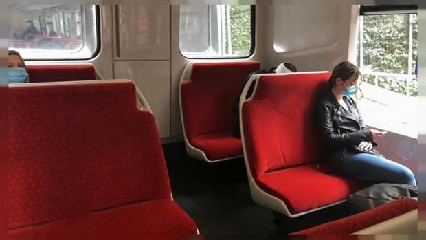 استفاده از پارچه خود تمیزشونده و ضد کرونا در قطارهای فرانسه