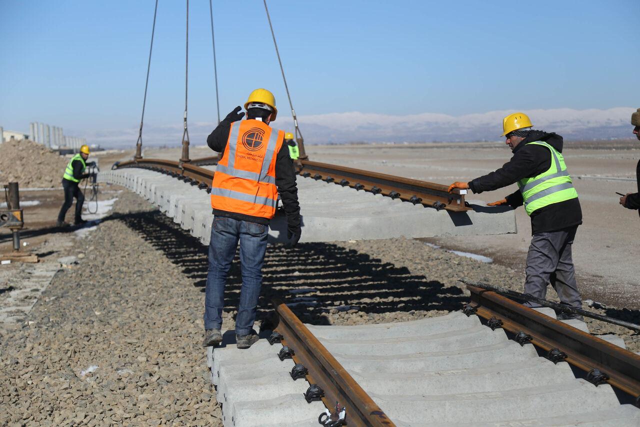 پروژه راهآهن اردبیل -میانه تا ۱۴۰۰ تکمیل میشود