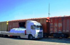 افزایش ۶۹ درصدی تن کیلومتر بار خالص حمل شده ریلی در منطقه شمالغرب