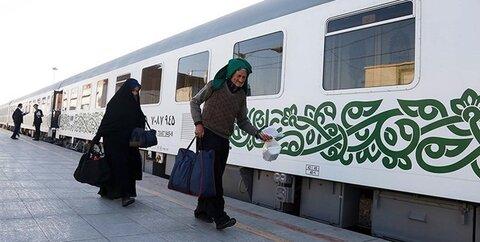 فعالیت قطارهای یزد- تهران- مشهد از سر گرفته شد