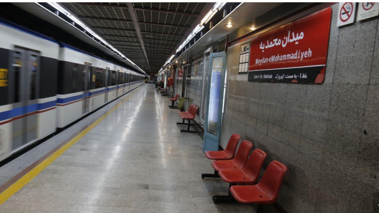 عذرخواهی شرکت بهره برداری مترو به دلیل نقض فنی یکی از قطارهای خط یک