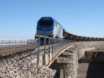 حمل ریلهای راه آهن با هدف کمک به بهسازی و توسعه خطوط در سراسر کشور