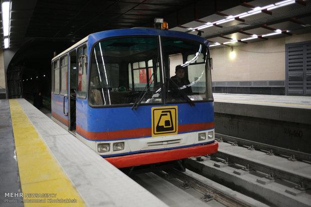 کاهش ۳۰ درصدی واگن های مترو