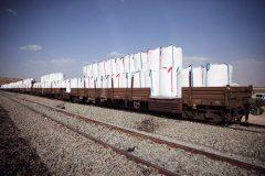 رشد ۳ برابری تخلیه بار در راه آهن شرق