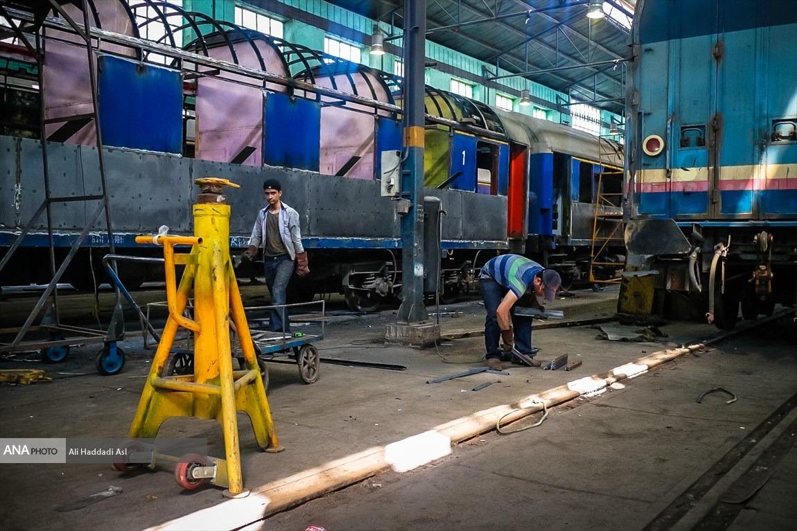 بازسازی ۱۰ دستگاه واگن قطار برای شرکت حمل و نقل ریلی رجا تا ۲۰ دی ۹۹