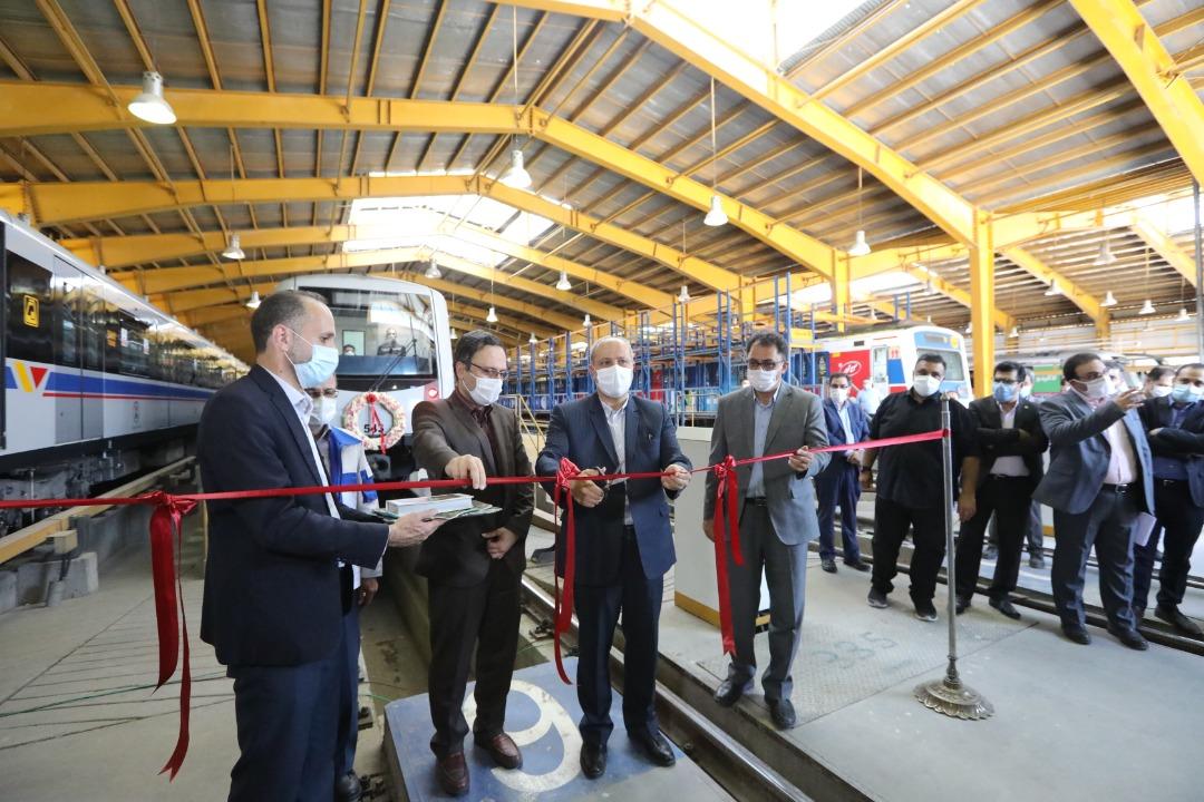 ورود ۲ رام قطار جدید به ناوگان متروی تهران