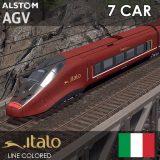 مستند سریع ترین قطار اروپا، ایتالو ای جی وی ITALO AGV