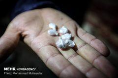 کشف بیش از ۱ کیلوگرم هروئین از جداره کیف مسافران قطار