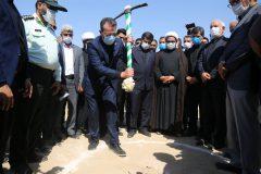 گزارش تصویری /مراسم کلنگ زنی فاز اول راه آهن بندر امام خمینی (ره) – شادگان – خرمشهر