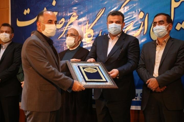 اداره کل راه آهن شمال بعنوان دستگاه برتر جشنواره شهید رجایی مازندران انتخاب شد