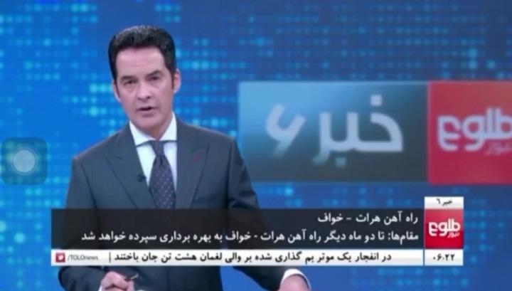 پوشش بین المللی آماده سازی راه آهن خواف – هرات برای افتتاح