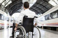 امکان استفاده از خدمات ویلچر در قطارهای مسافری مهیا شد