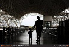 ایستگاه شمتیغ در راه آهن خواف-هرات دروازه پیوند معماری ایران و افغانستان است