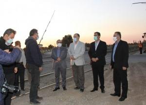 پروژه تقاطع غیر هم سطح راه آهن هشتگرد حداکثر ۴ ماه آینده به بهره برداری می رسد