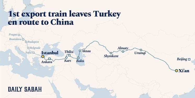 «زمان» عامل استقبال صاحبان کالا از مسیر ترانزیتی/ چرا خط آهن ترانزیتی ترکیه-چین جذاب شد؟