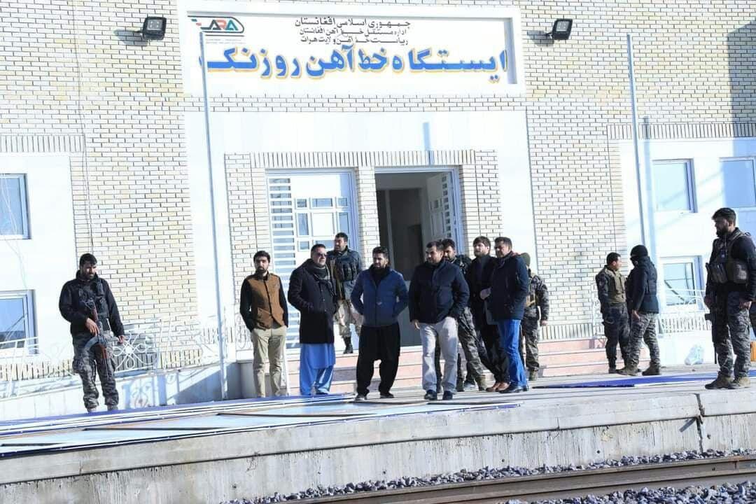 افغانستان برای افتتاح راه آهن خواف-هرات آماده می شود