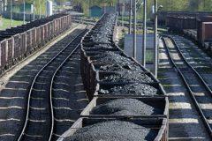 حمل ریلی نخستین محموله ذغال سنگ از بندر امیرآباد به کرمان