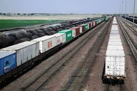 افزایش ۳۵ درصدی ترانزیت ریلی از مرز سرخس به ترکمنستان