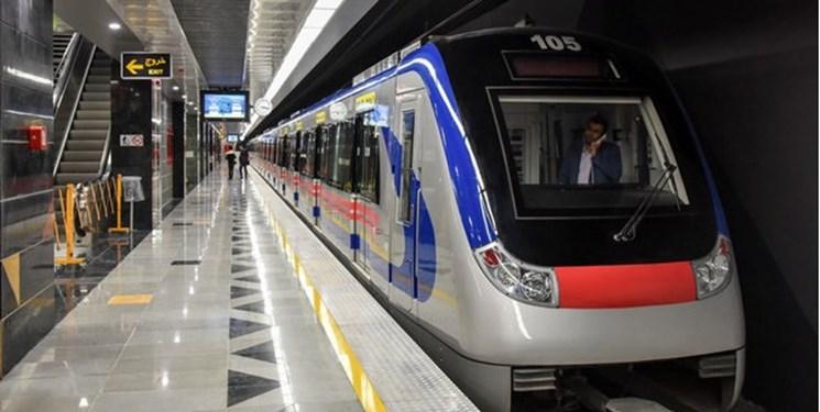 کاهش سر فاصله حرکت قطارها در خطوط ۳ و ۴ مترو تهران
