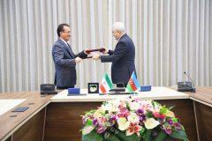 امضای تفاهمنامه همکاری بین دو کشور ایران و آذربایجان