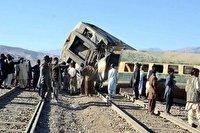 ۳۲ کشته و زخمی در حادثه خروج قطار از خط در پاکستان