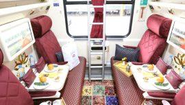 قطارهای لوکس در کشور را بشناسید و با خدمات آنها آشنا شوید