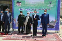خط دوم راه آهن قزوین – زنجان و بافق – زرین شهر با دستور رئیسجمهوری افتتاح شد