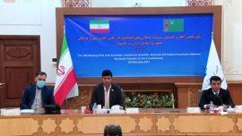 حضور مدیرعامل راه آهن به عنوان نماینده وزیر راه و رییس نشست کارشناسی شانزدهمین اجلاس کمسیون مشترک اقتصادی ایران و ترکمنستان
